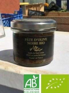 petit pot pate d'olive bio