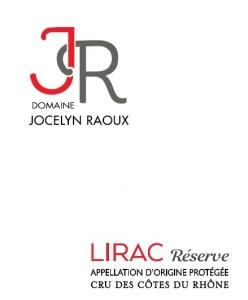 Fiche Technique Vin Rouge LIrac - Cuvée Réserve - Domaine Jocelyn Raoux