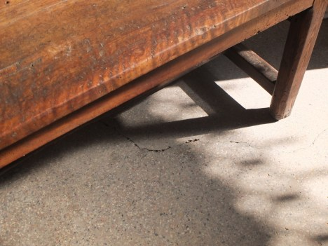 French antique armhouse table