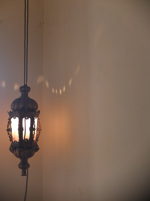 Lamp 1st floor