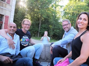 Try-out 2018: Michael Lear, Vincent de Klerk, Jos Weesjes, Niels-Peter van Doorn & Lee Baker