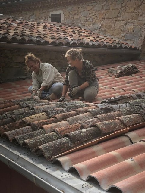 Garage Roof Anousch & Veronique