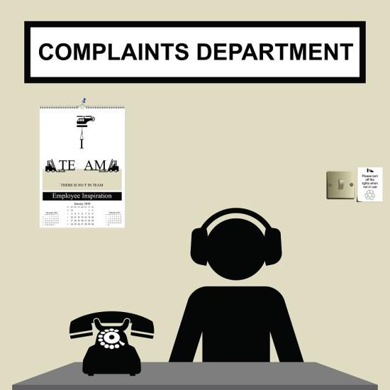 Complaints DFC