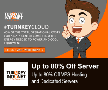 TurnkeyInternet Coupon 80% Off VPS and Server