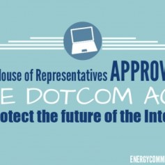 House Passes Bipartisan Legislation to Protect the Internet