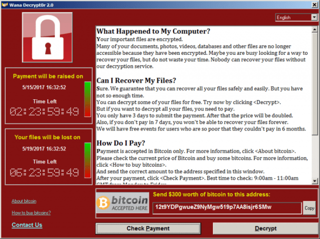 WannaCry ransomware affects over 150 countries, Africa least hit