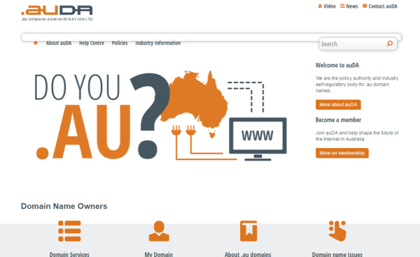 Australian Government orders review of the .au Domain Administration