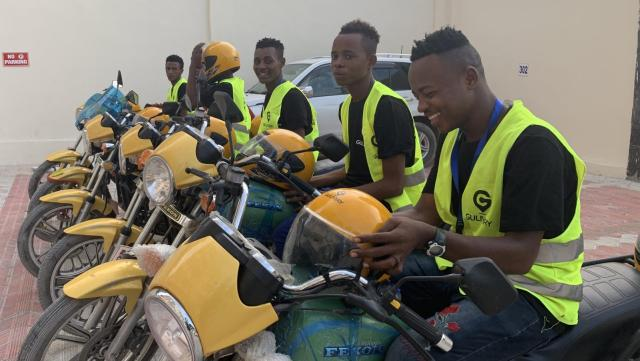 Mogadishu gets its first motorcycle hailing app