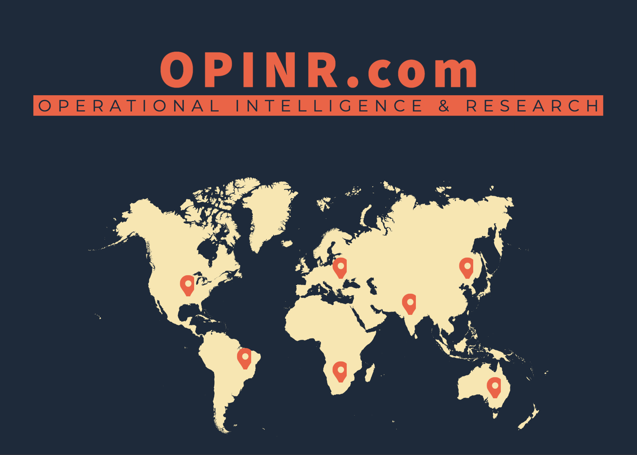 OPINR stands for Operational Intelligence and Research
