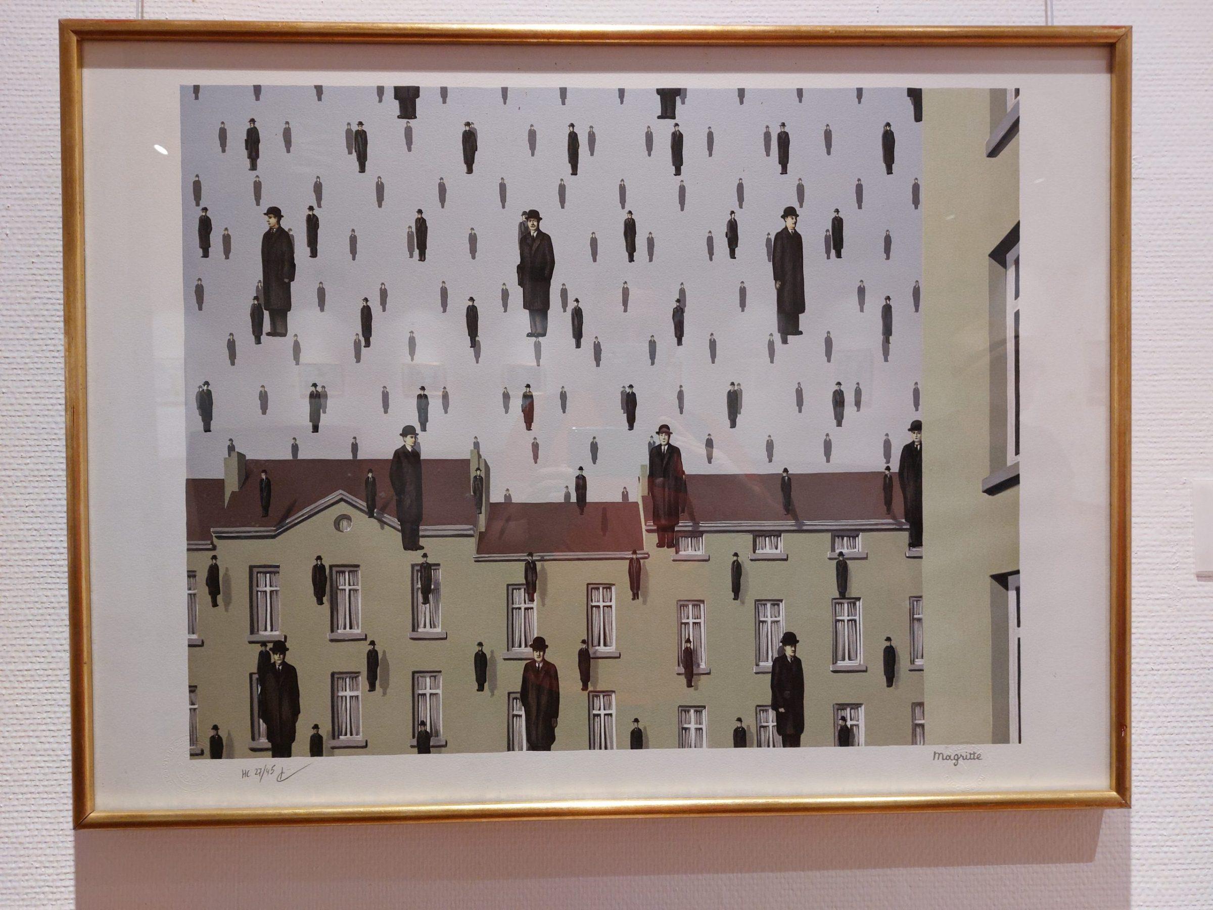 Golconda, René Magritte
