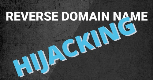 Reverse domain name hijacking graphic