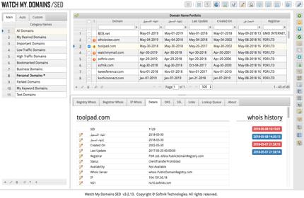 Domain Name Management Software