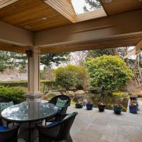 This Oasis In The Heart Of Oak Bay Includes A Koi Pond — Luxury Residence
