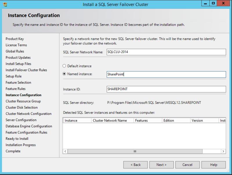 domalab.com SQL first node instance configuration