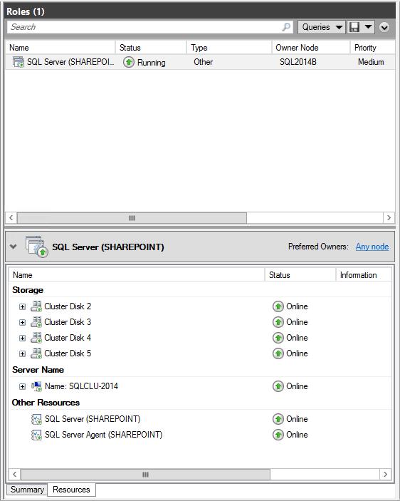 domalab.com SQL second node role owner