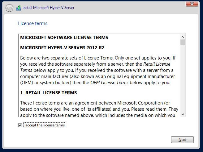 domalab.com Hyper-V nested install license
