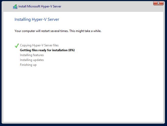 domalab.com Hyper-V nested install process