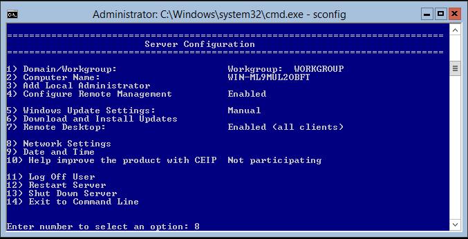 domalab.com Hyper-V nested install IP address