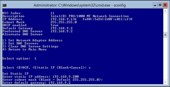 domalab.com Hyper-V nested install configure IP