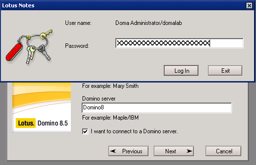 domalab.com Quickr Domino Lotus notes password