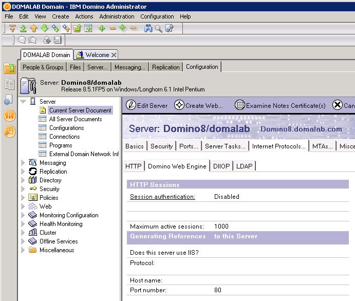 domalab.com Quickr Domino Web Engine