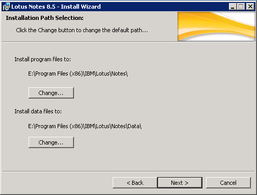domalab.com configure Domino installation paths