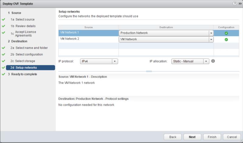 domalab.com Data Domain virtual edition setup network