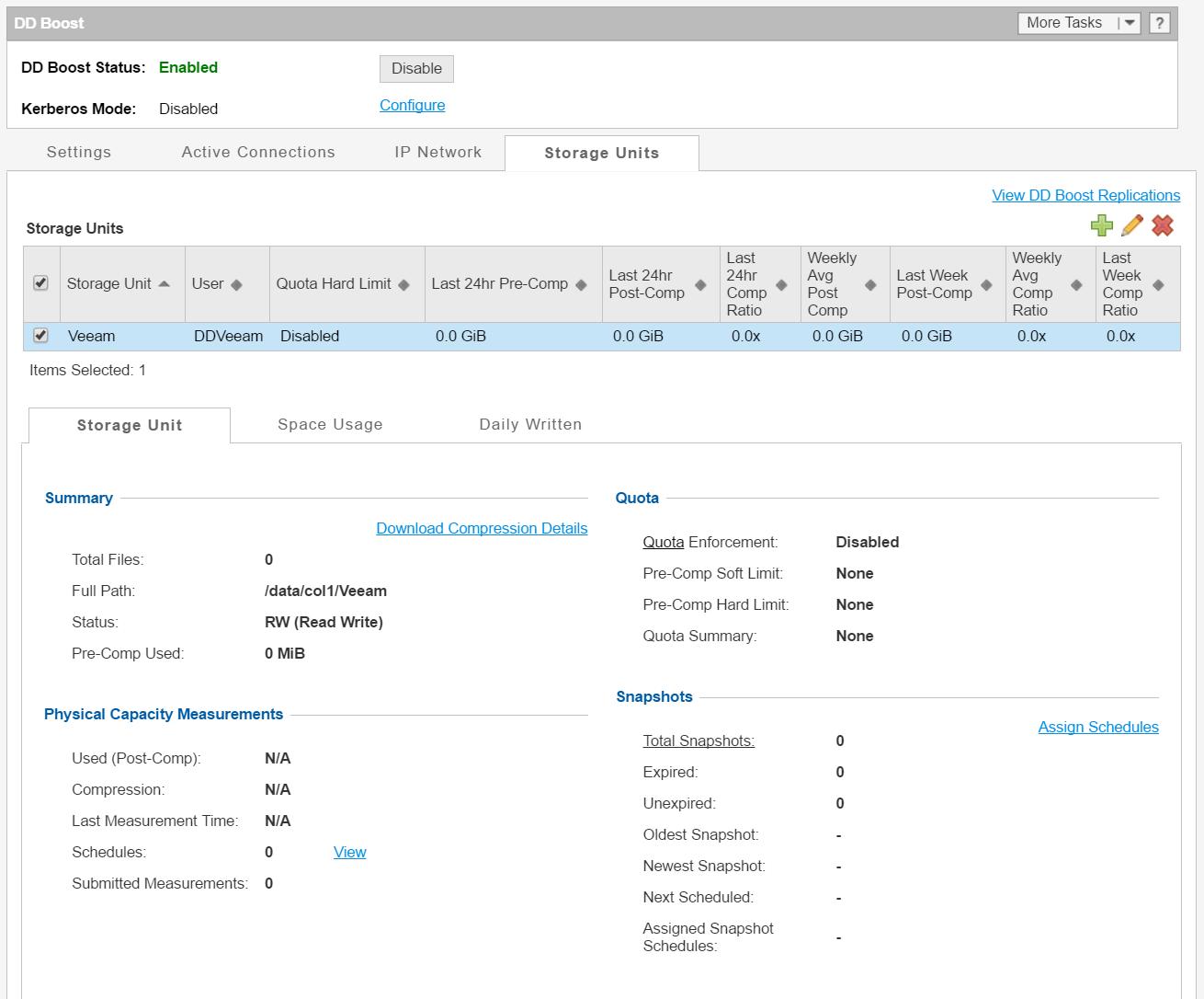 domalab.com DD Boost Storage units