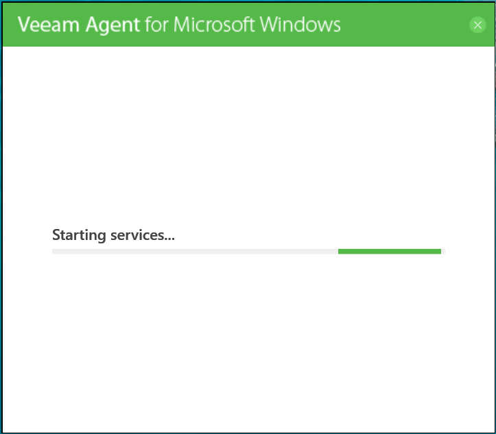 domalab.com Veeam Agents start services