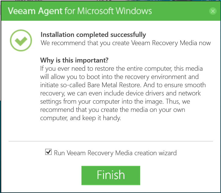 Veeam Agent for Windows 08