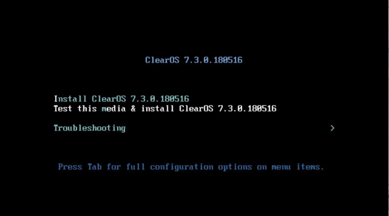 Install ClearOS on VMware ESXi