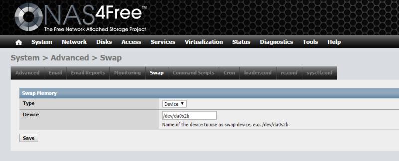 Install NAS4Free VMware ESXi 36