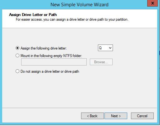 domalab.com NAS4Free iSCSI target simple volume letter