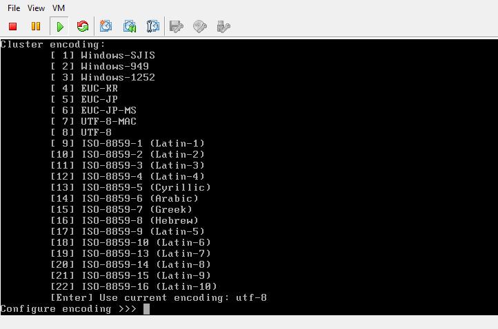 Isilon OneFS cluster encoding