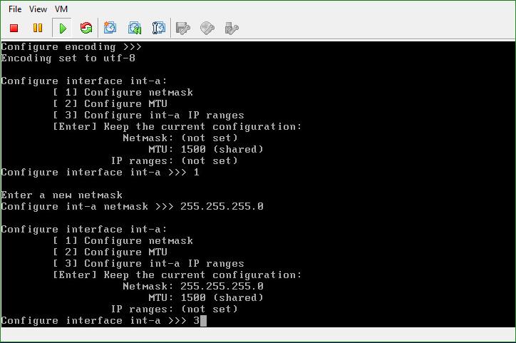 Isilon OneFS configure Internal network