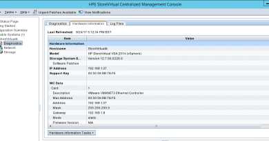 How to configure HPE StoreVirtual VSA
