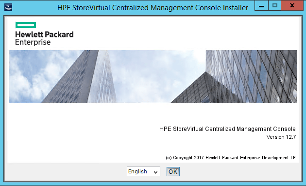 Install HPE StoreVirtual Centralized Management Console » domalab