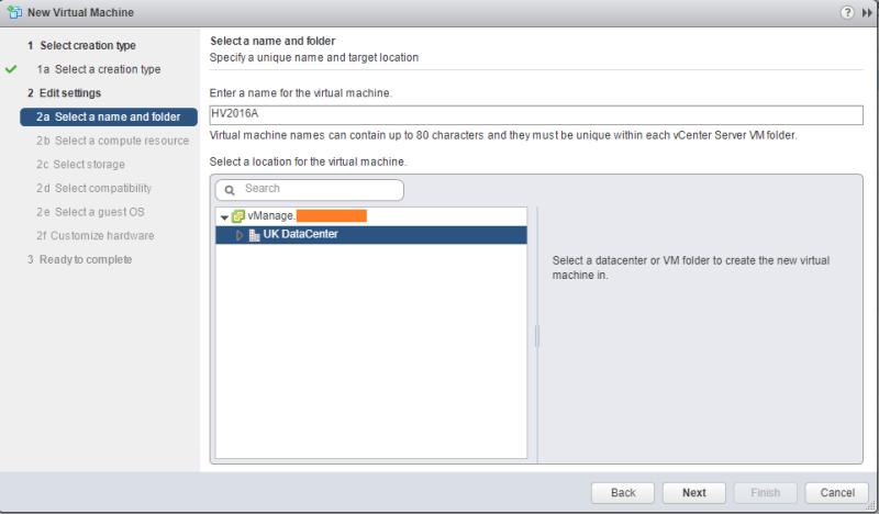 Hyper-V 2016 nested install