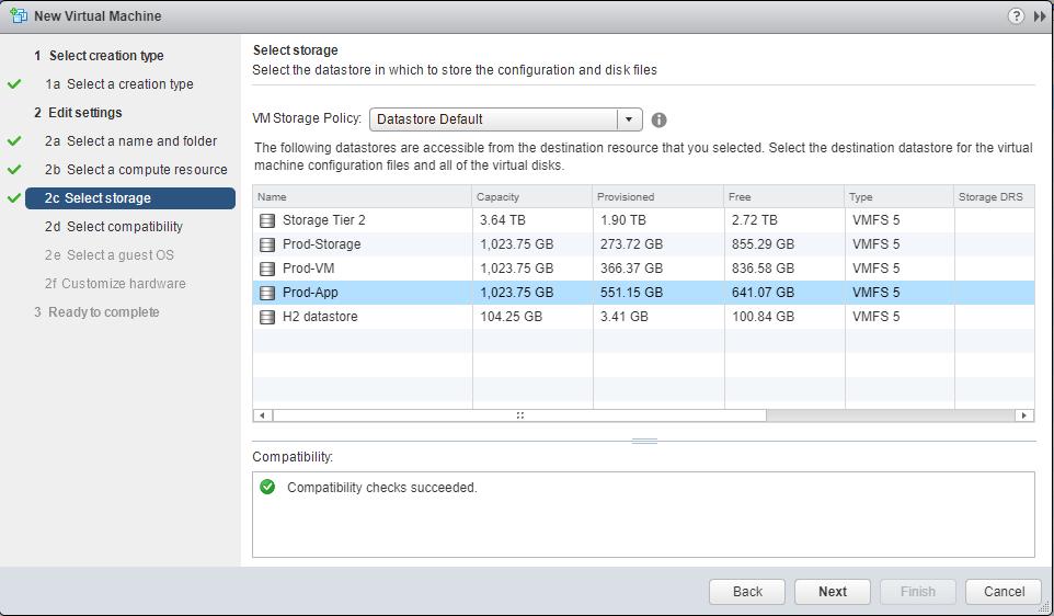 Hyper-V 2016 nested install into VMware Storage