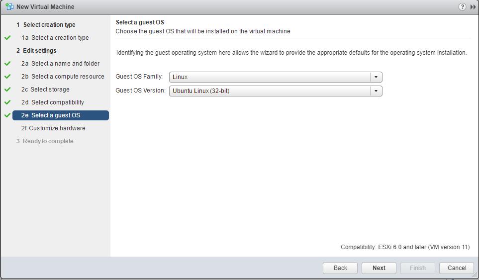 Linux Ubuntu vm os