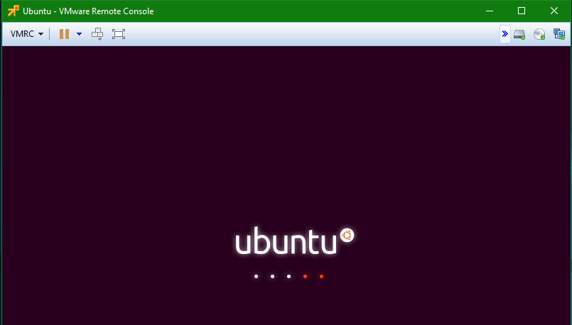 Install Linux Ubuntu 16.04 LTS with Open-VM-Tools