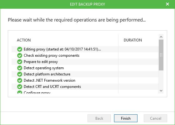 Backup Office 365 Backup Proxy Install