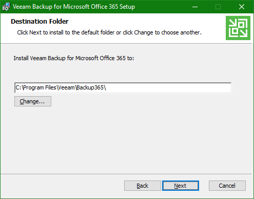 Backup Microsoft Office 365 install folder