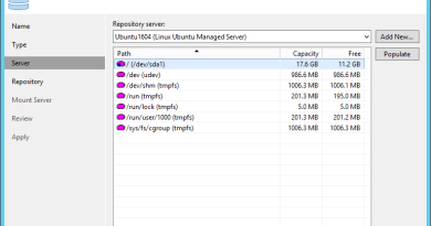 Create Linux Backup Repository with Veeam