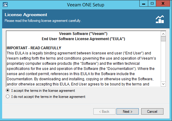 Veeam One EULA
