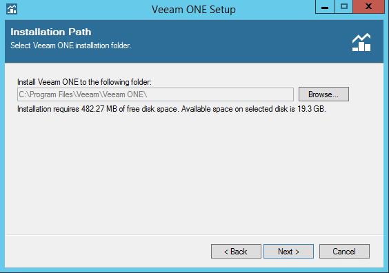 Veeam One installation folder