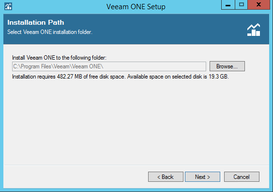 Veeam One installation folder
