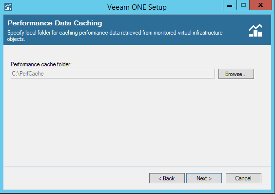 Veeam One performance cache