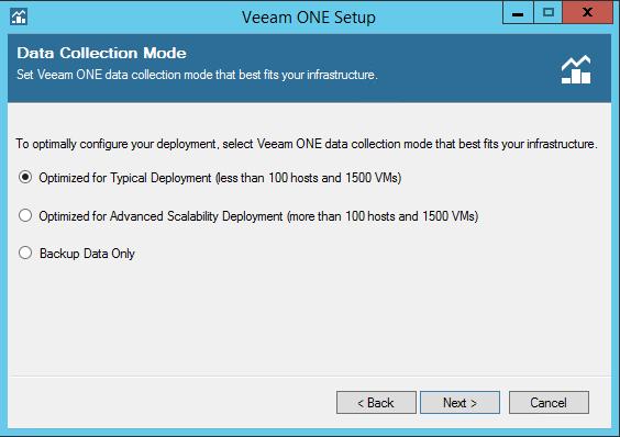 Veeam One deployment type