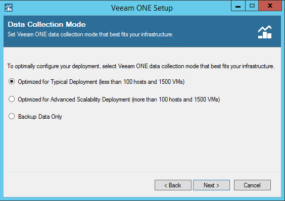 Veeam One deployment type